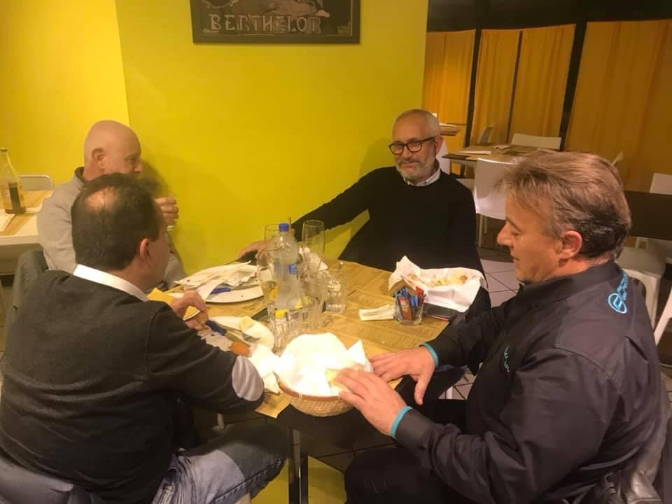cena associazione a pizza express