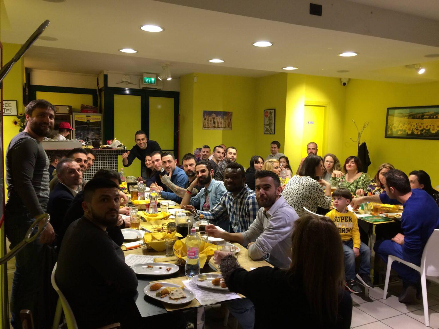 cena clienti a pizza express