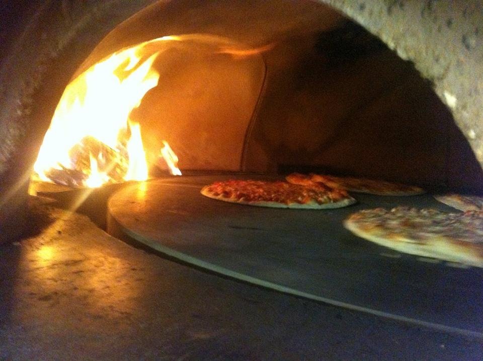 forno rotante a pizza express